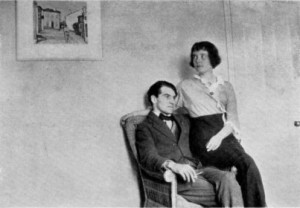 Katherine Mansfield and John Middleton