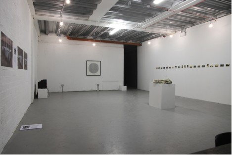 Installation image of Gallery 1 at Occupy Space; courtesy of the artists and Occupy Space.