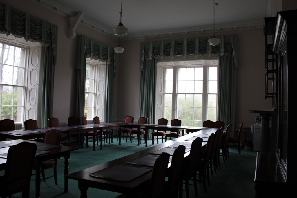 Ballyhaise House interior, 2012