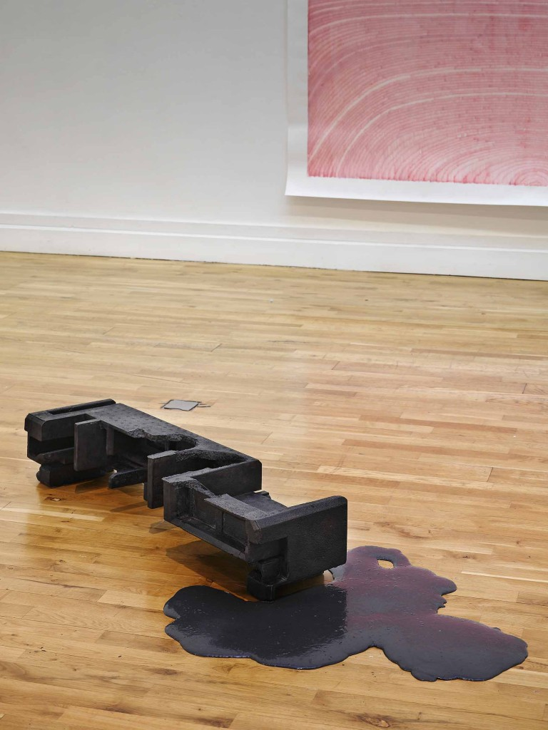 Brendan Earley: A Million Years Later, 2011. Bronze and silicon. 20x105x30