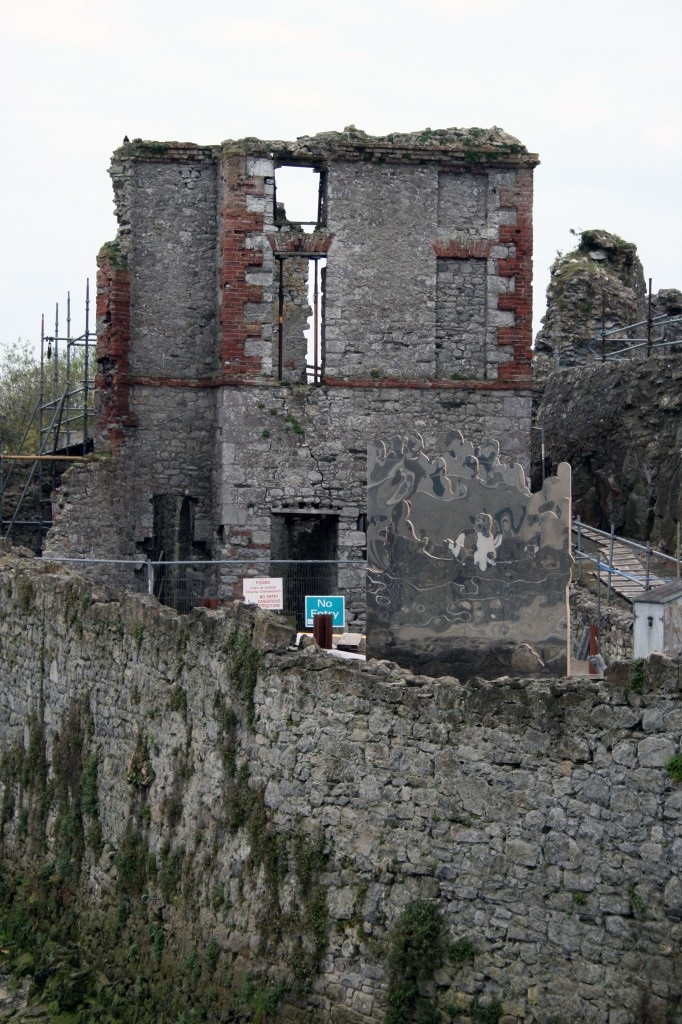 Diana Copperwhite,(2012) beside Hellfire Club,Image courtesy of Askeaton contemporary Arts