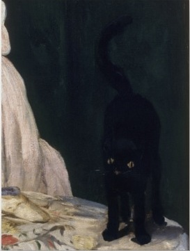 Manet: Olympia (detail)