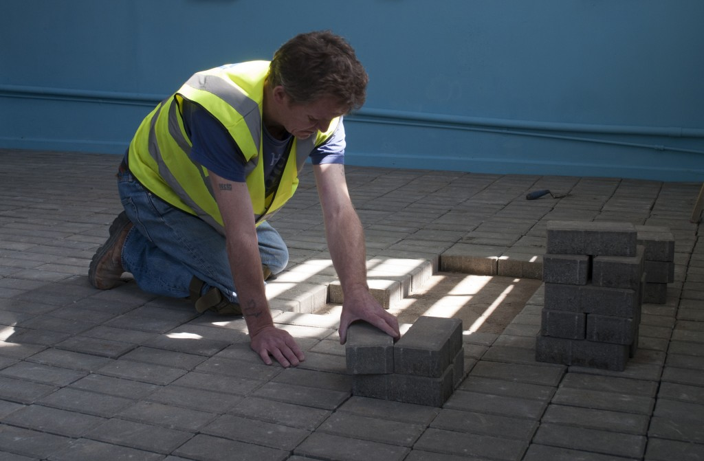 Kerry Guinan, Beneath the Paving Stones, 2014, installation view. Courtesy of the artist.