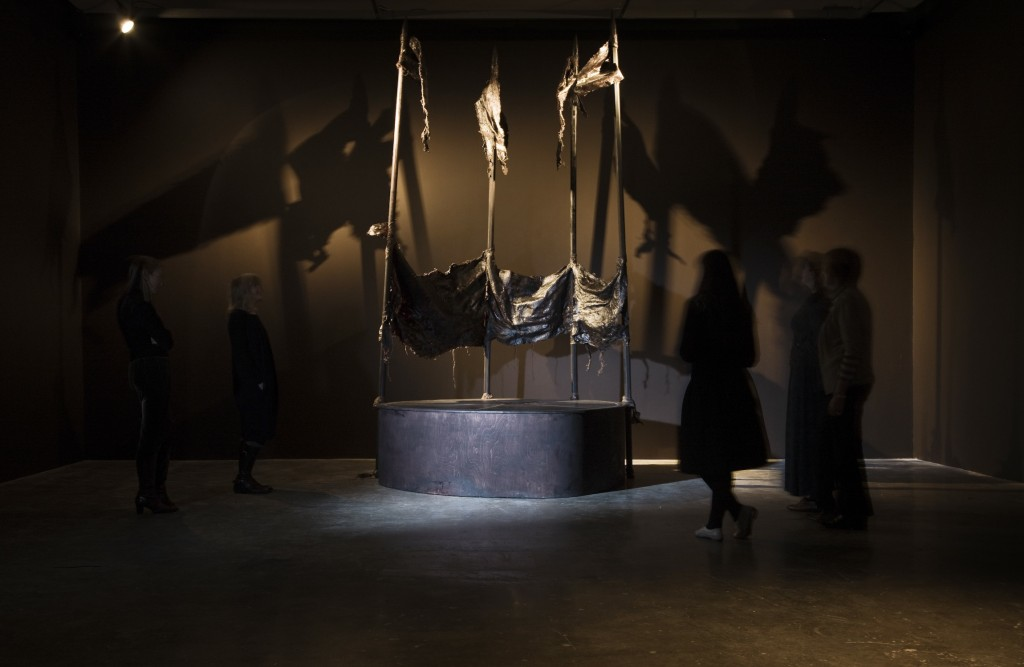Clodagh Emoe, Cult of Engagement, Project Arts Centre, 2009, exhibition view