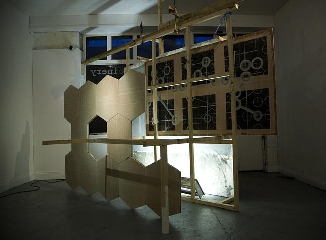 Neil Carroll: Working Backwards, installation shot, 2011; photo Miranda Driscoll.