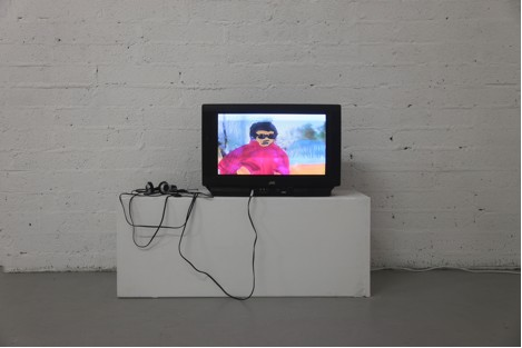 Installation image of Painting Paradise by Barbara Hlali; courtesy of the artist and Occupy Space.
