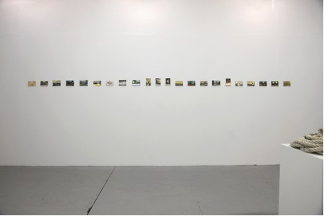 Installation image of The Second Moon by Marko Tadi?; courtesy of the artist and Occupy Space