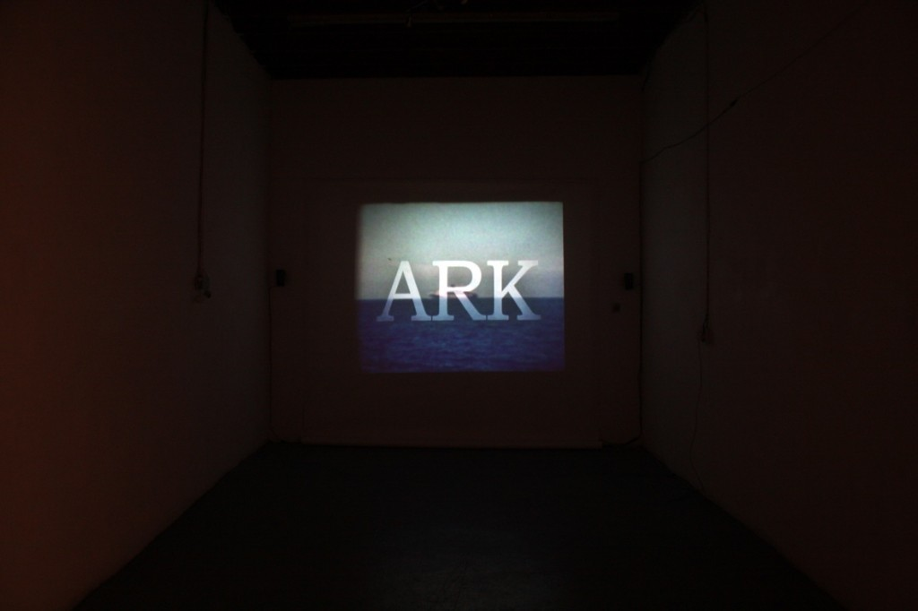 Suzanne van der Lingen: <i>ARK</i>, video projection, archival and found footage, 2011; image courtesy the artist.