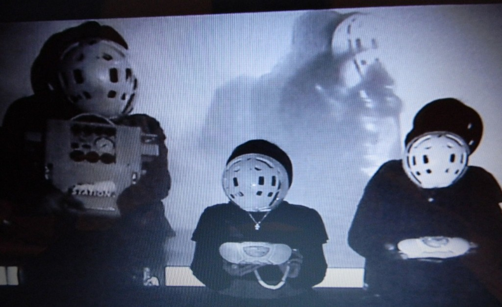 Elmarie Collins, Maybe they were human once, video still, 2011; image courtesy GMIT.