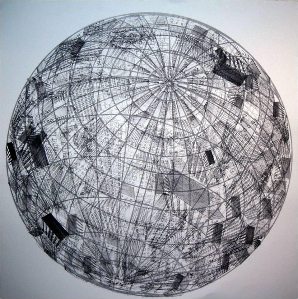 Eoin Mcginn: Urbanisation, 2010, screenprint; image courtesy the artist and Catalyst Arts.