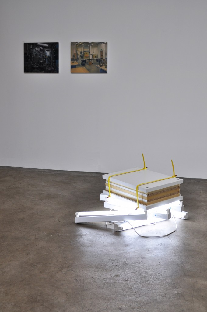 Nor for Nought, installation view, 2011; Image courtesy mother's tankstation and the artists.