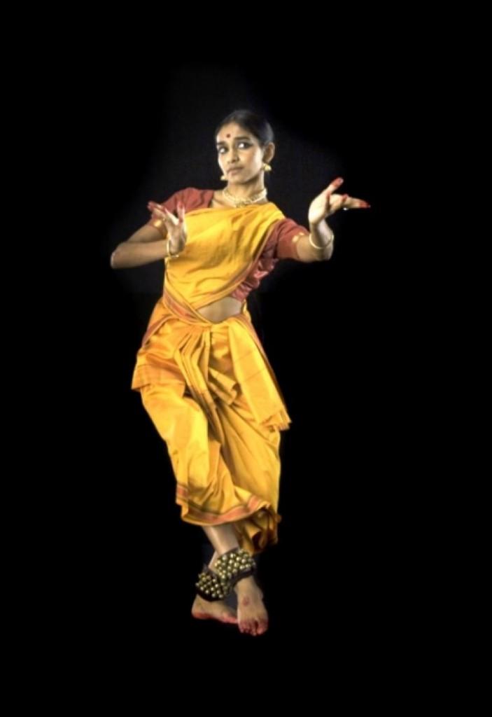 David Michalek: Slow Dancing at Trafalgar Square. Dancer: Shantala Shivalingappa