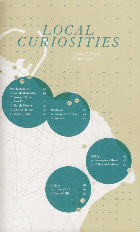 Local Curiosities, Aleana Egan & Pa, front cover, 2011.