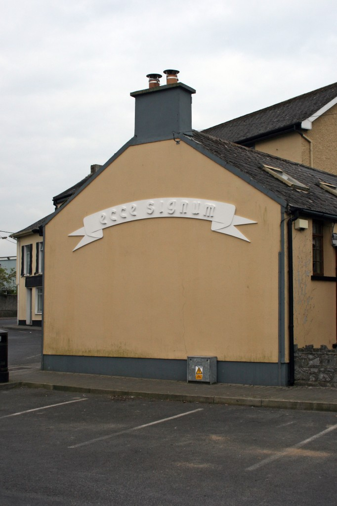 Sean Lynch,gable end, east square (2012) image courtesy of Askeaton Contemporary Arts