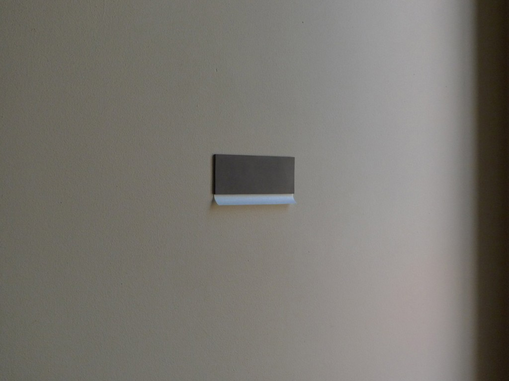 Tom O'Dea  'Bay', 2012, lino, wax paper, 200x80x10mm