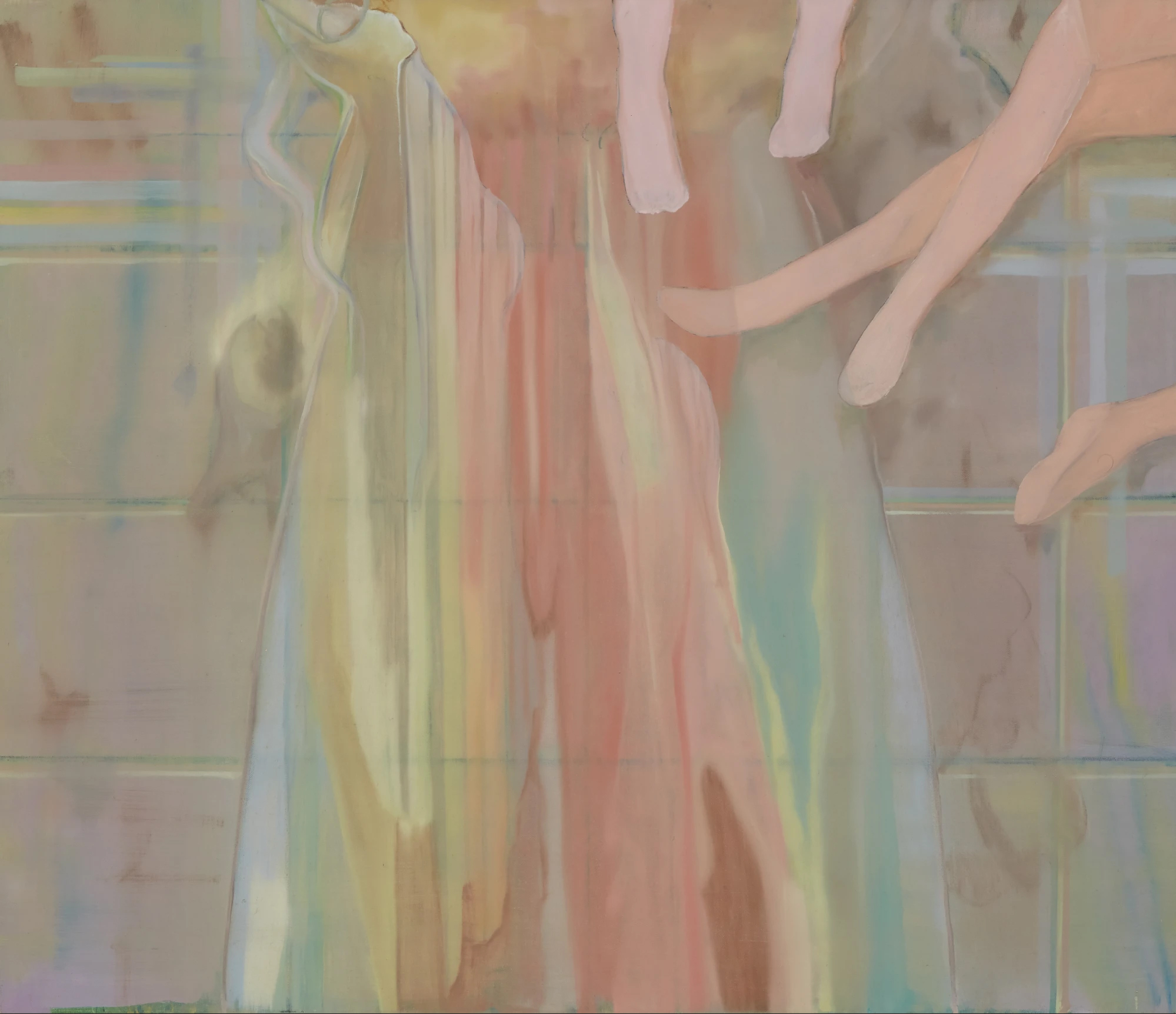 Sonia Shiel, When We Remember, 2021. Oil on canvas, 60 × 70 cm. Courtesy of the Kevin Kavanagh Gallery.